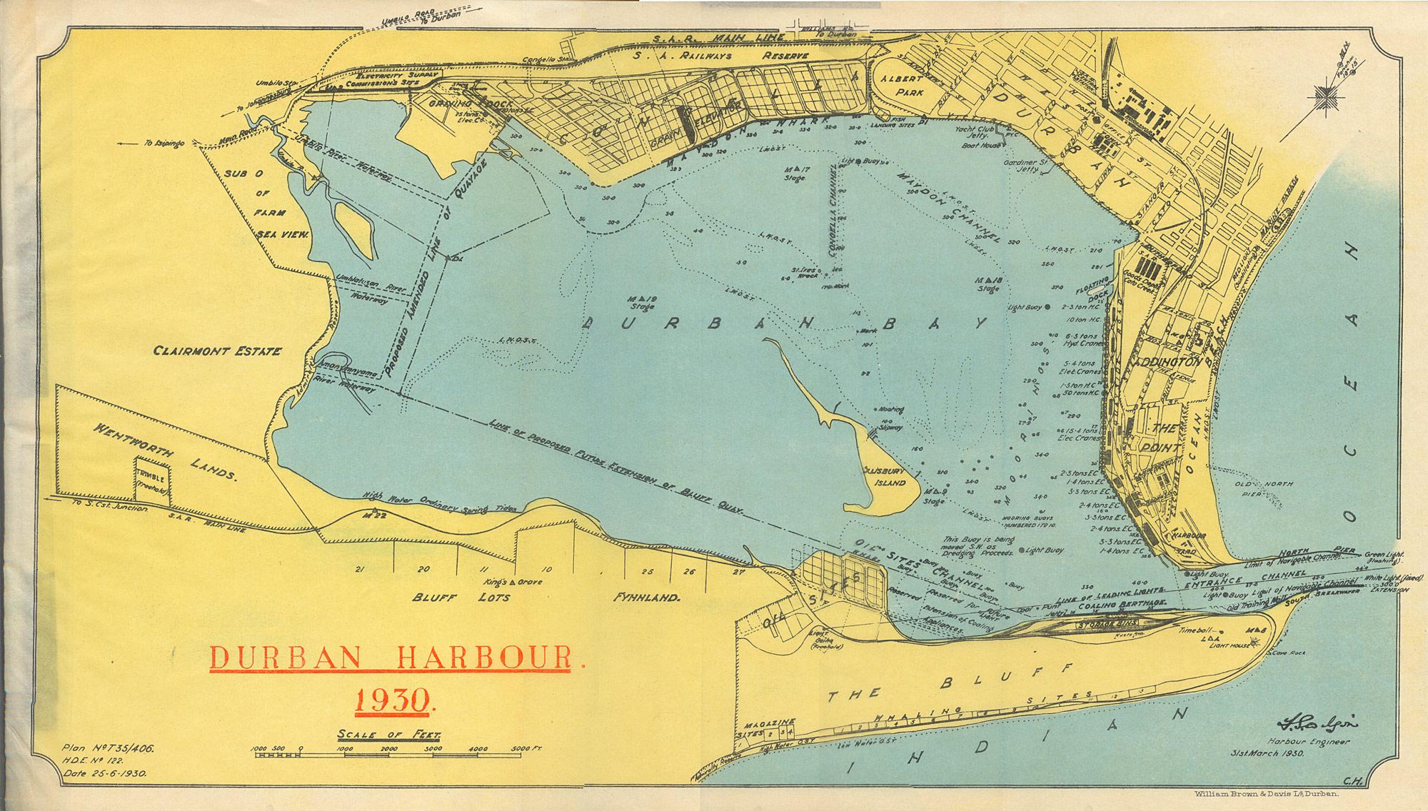 fad bay map